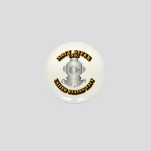 Navy - Rate - ND Mini Button