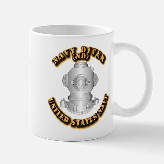 Navy - Rate - ND Mug