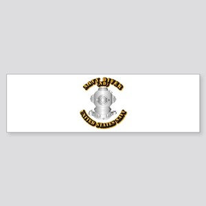 Navy - Rate - ND Sticker (Bumper)