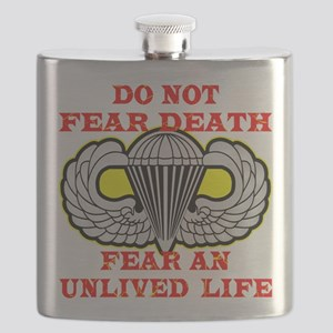 wht_Airborne_Do_Not_Fear_Death Flask