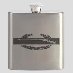 wht_Combat_Infantry_Badge Flask