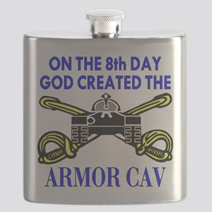 8th_Day_Created_Armor_Cav Flask