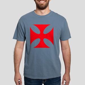templar cross Mens Comfort Colors Shirt