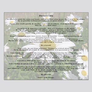 Desiderata Amongst The  Daisy Small Poster