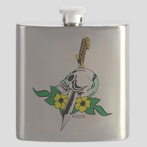 wht_Skull_Dagger_1001 Flask