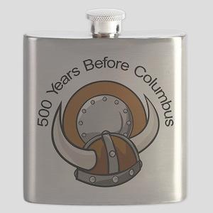 500_Years_Columbus_Viking Flask