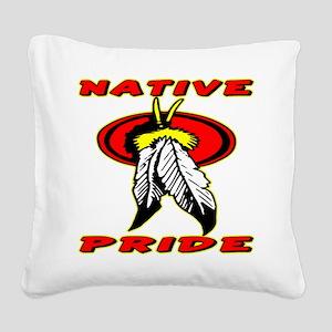 wht_Native_Pride_1001 Square Canvas Pillow