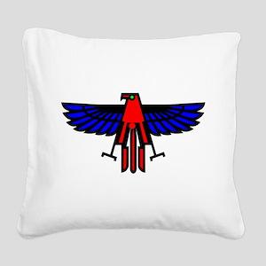 wht_Eagle_Bird Square Canvas Pillow