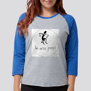 Im into poo Womens Baseball Tee