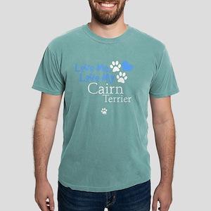 lovemy-cairnterrier-dark Mens Comfort Colors Shirt