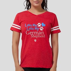 lovemy-germanshepherd-dark.p Womens Football Shirt