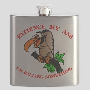 Buzzard_Patience_My_Ass Flask