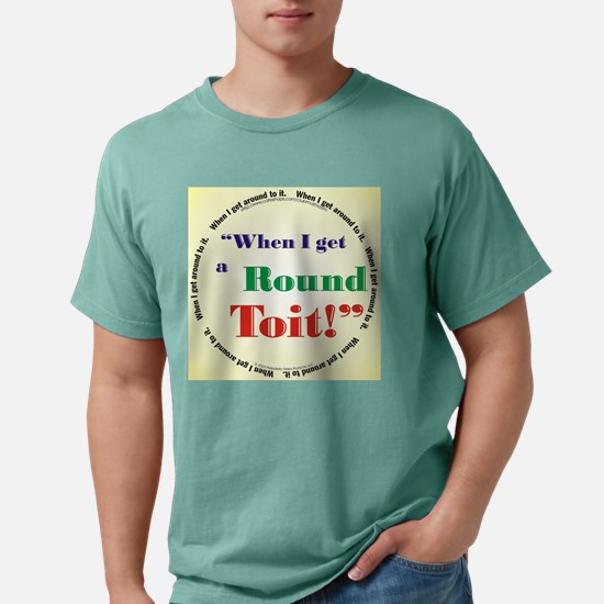 rnd2itdisk.jpg Mens Comfort Colors Shirt