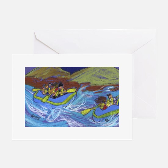 Raftin Greeting Cards