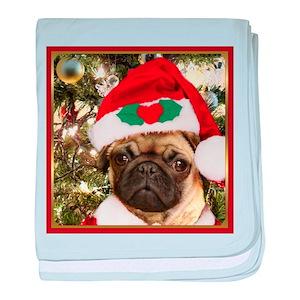 257582ae920 Puggle Baby Blankets - CafePress