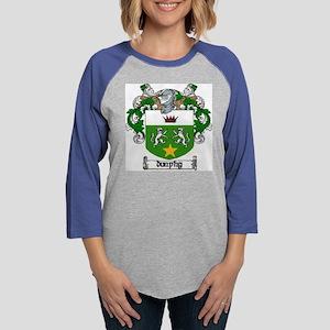 dunphy2clock Womens Baseball Tee