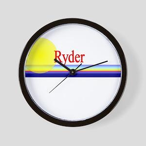 Ryder Wall Clock