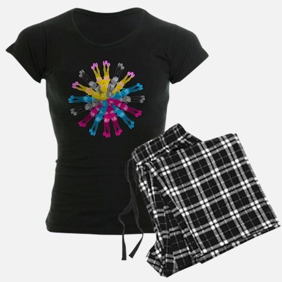 Colorful Cosplay Girls Pajamas