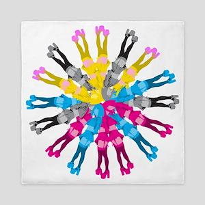 Colorful Cosplay Girls Queen Duvet