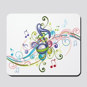 Music in the air Mousepad