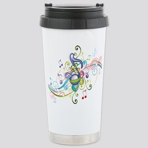 Music in the air Stainless Steel Travel Mug