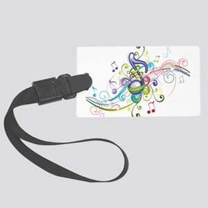 Music in the air Large Luggage Tag