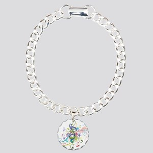 Music in the air Charm Bracelet, One Charm