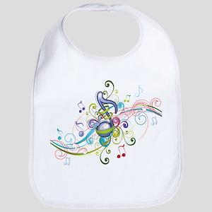 Music in the air Bib