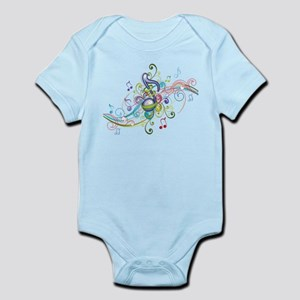 Music in the air Infant Bodysuit
