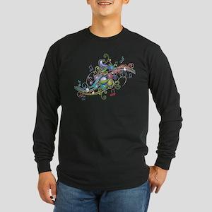 Music in the air Long Sleeve Dark T-Shirt