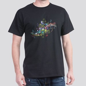 Music in the air Dark T-Shirt
