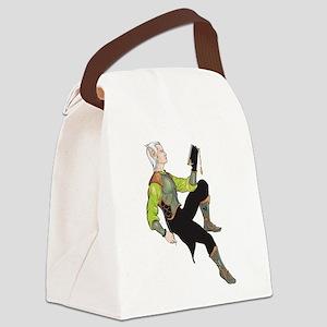 Elf Canvas Lunch Bag