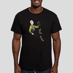 Elf Men's Fitted T-Shirt (dark)