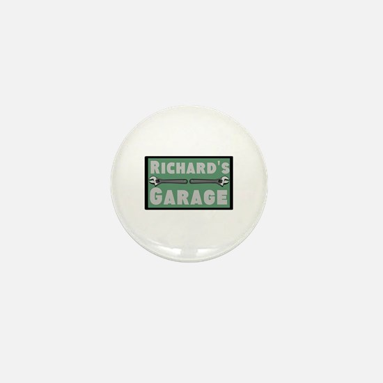 Personalized Garage Mini Button