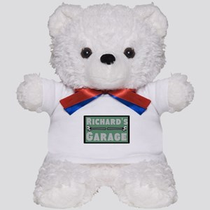 Personalized Garage Teddy Bear
