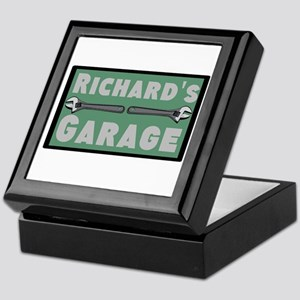 Personalized Garage Keepsake Box