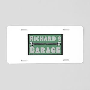 Personalized Garage Aluminum License Plate