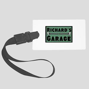 Personalized Garage Large Luggage Tag