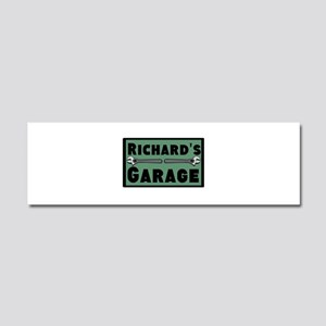 Personalized Garage Car Magnet 10 x 3