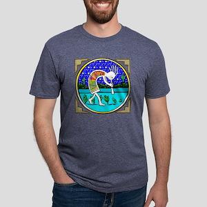 _____New Kokopelli Bl Mens Tri-blend T-Shirt