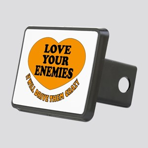 LOVE EVERYONE Rectangular Hitch Cover