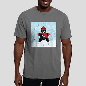 snowflakeClock Mens Comfort Colors Shirt