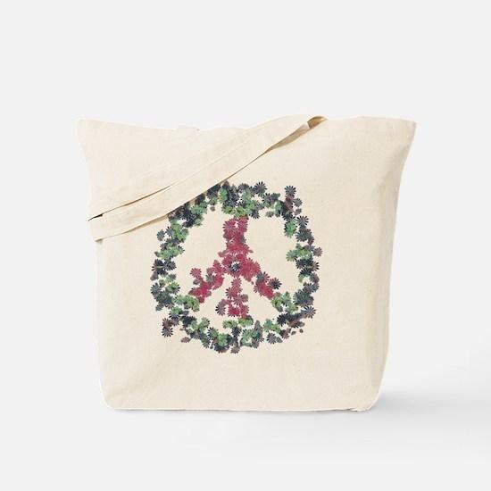 Yule Flower Peace Tote Bag