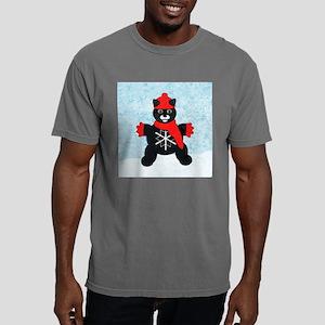 snowflakeTile Mens Comfort Colors Shirt