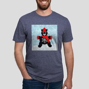 snowflakeTile Mens Tri-blend T-Shirt