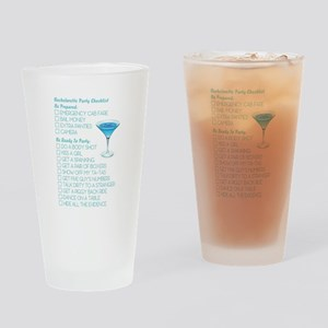 CHECKLIST Drinking Glass