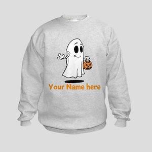 Personalized Halloween Kids Sweatshirt