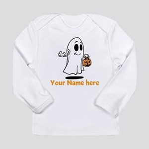 Personalized Halloween Long Sleeve Infant T-Shirt