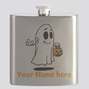 Personalized Halloween Flask