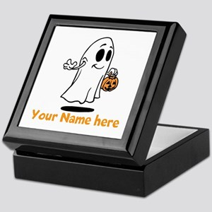 Personalized Halloween Keepsake Box